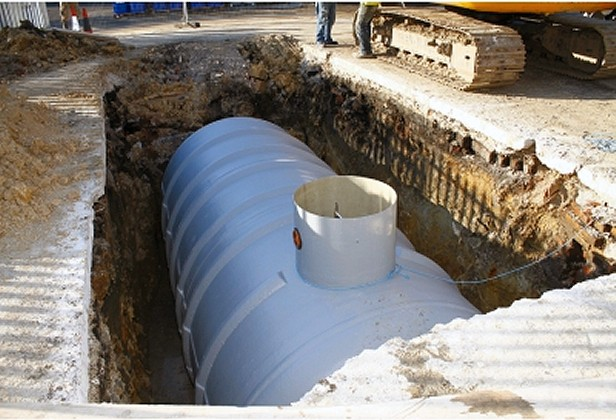 Two Chamber Septic Tank