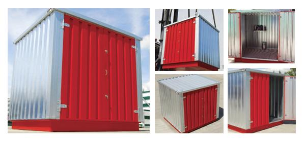 Steel Housings for Chemical Storage