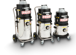 Morclean range of specialist vacuum cleaners