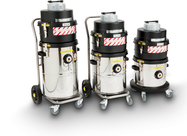 Morclean range of specialist vacuum cleaners