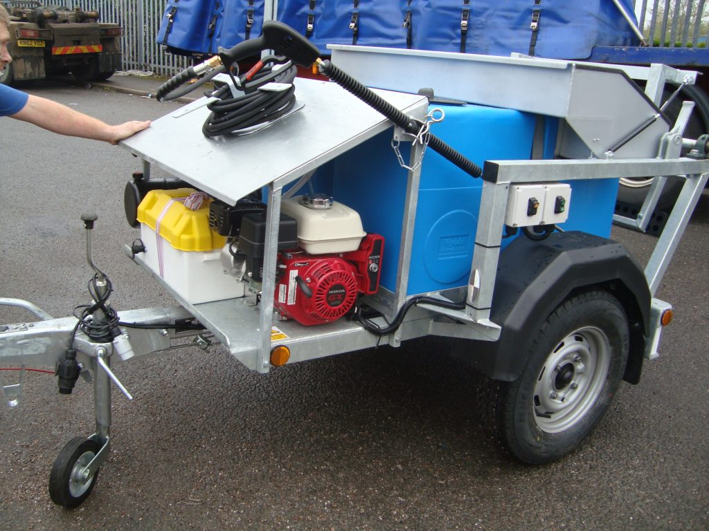 MK1 Wheelie Bin Wash machine