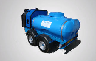 trailer bowser pressure washer