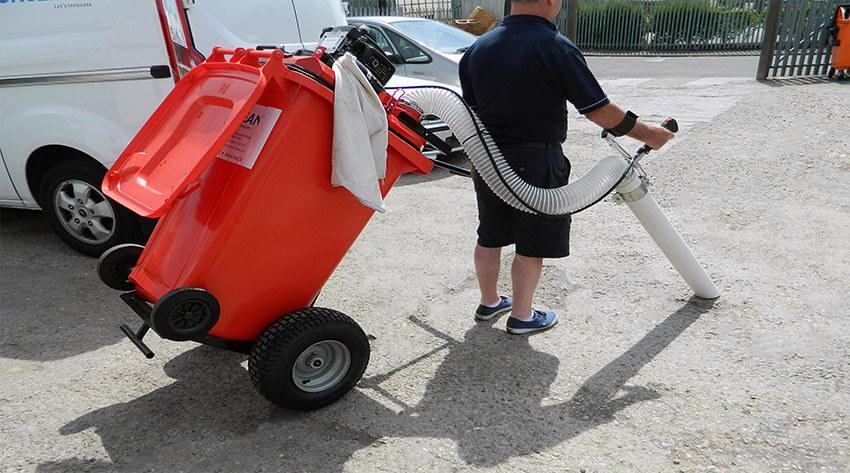 Litter Collection Wheelie Vacuum
