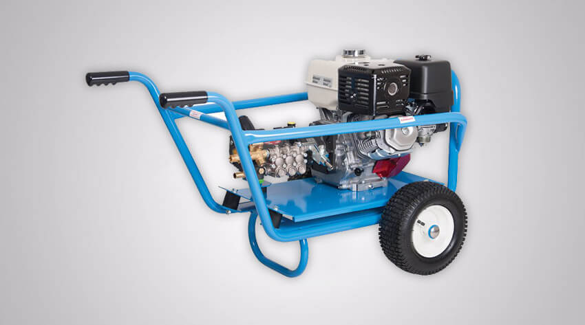 Cold Water Jet Washer Mobile