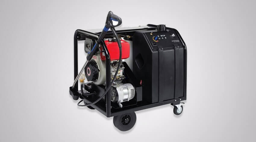 hot water jet washer