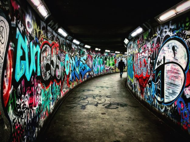chemical free graffiti removal