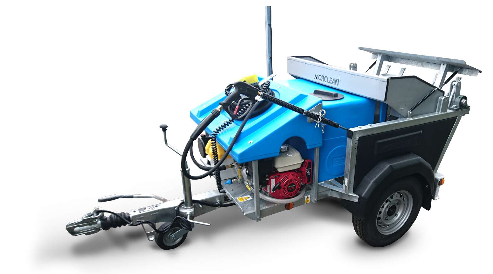 Petrol Powered Wheelie Bin Wash