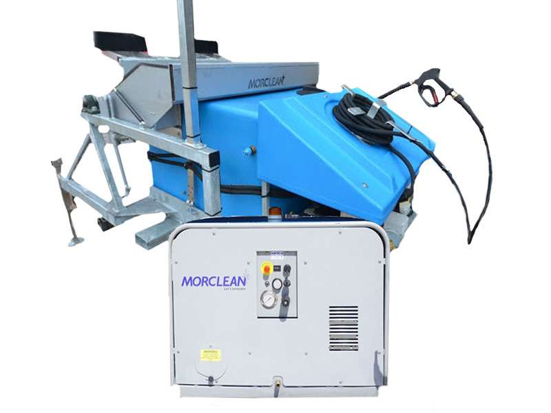 Steam Wheelie Bin Wash Machine