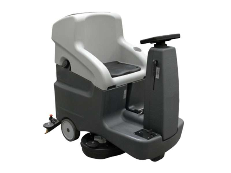 MSD660 R BT Ride-On Scrubber Dryer