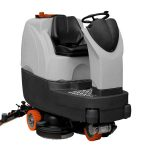 MSD900 R BT ride on floor scrubber dryer - perfect for cleaning floor areas of up to 4,500m2
