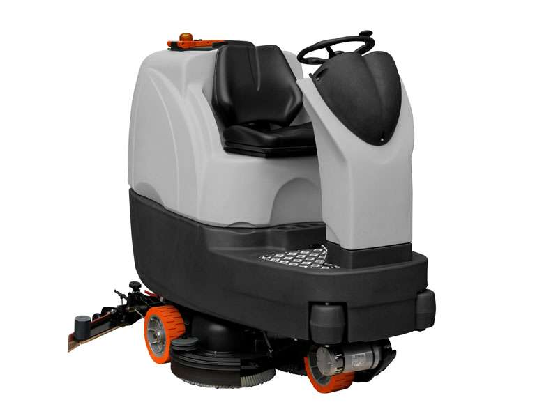 MSD900 R BT Ride-On Scrubber Dryer