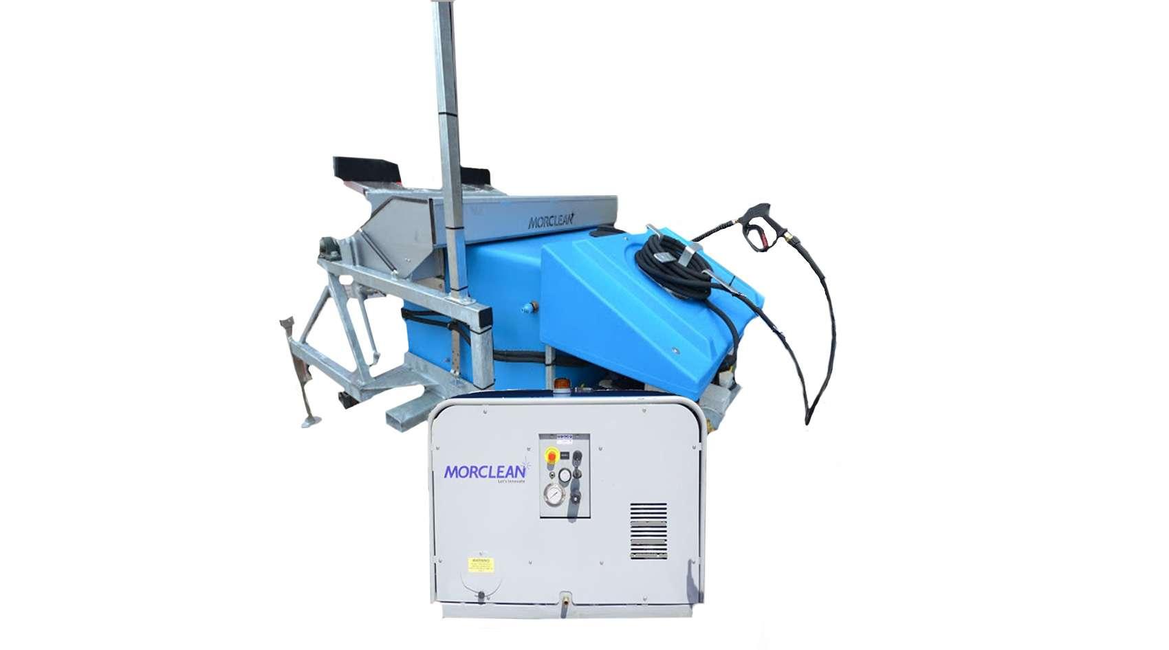 Steam Bin Wash Machine