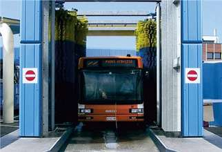 Drive Through Bus Wash