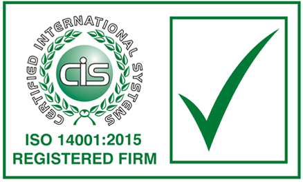 Certified International Systems ISO 14001:2015