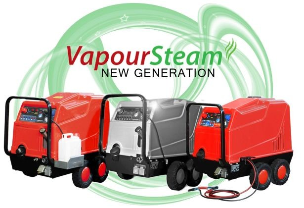 Reduced Water Steam Cleaners