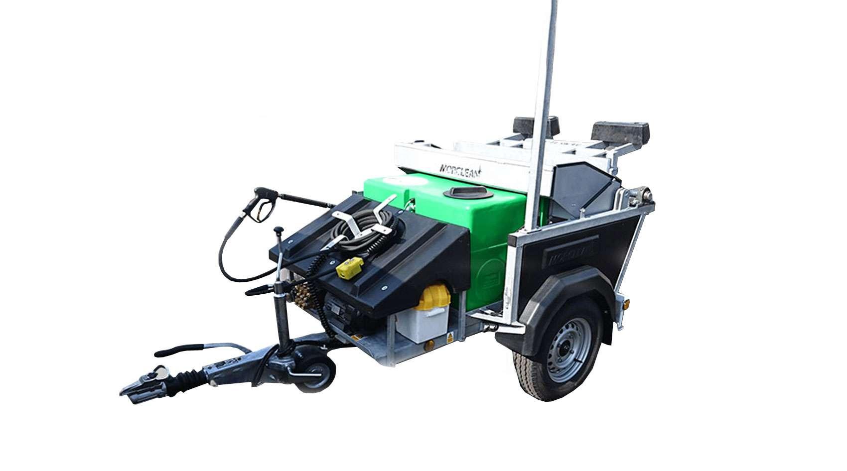 battery powered binwash city