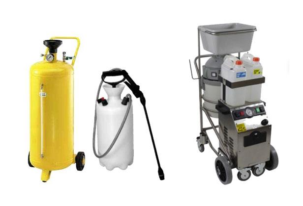grafitti removal equipment