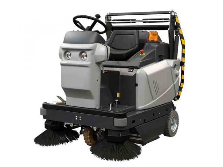 msw1100 R ET Bin Up Ride on floor sweeper
