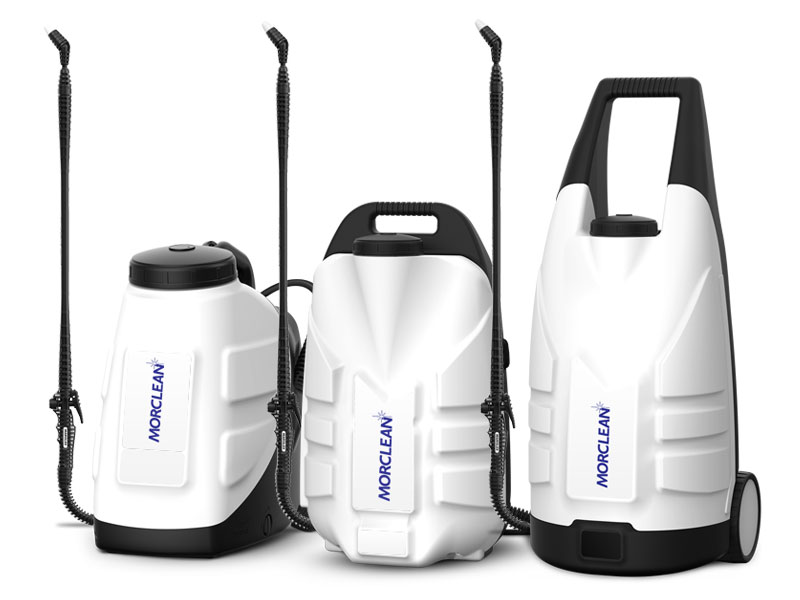 Covid-19 Portable sprayers for cleaning and disinfection