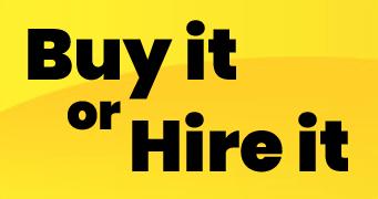 Scrubber dryers - buy it or hre it