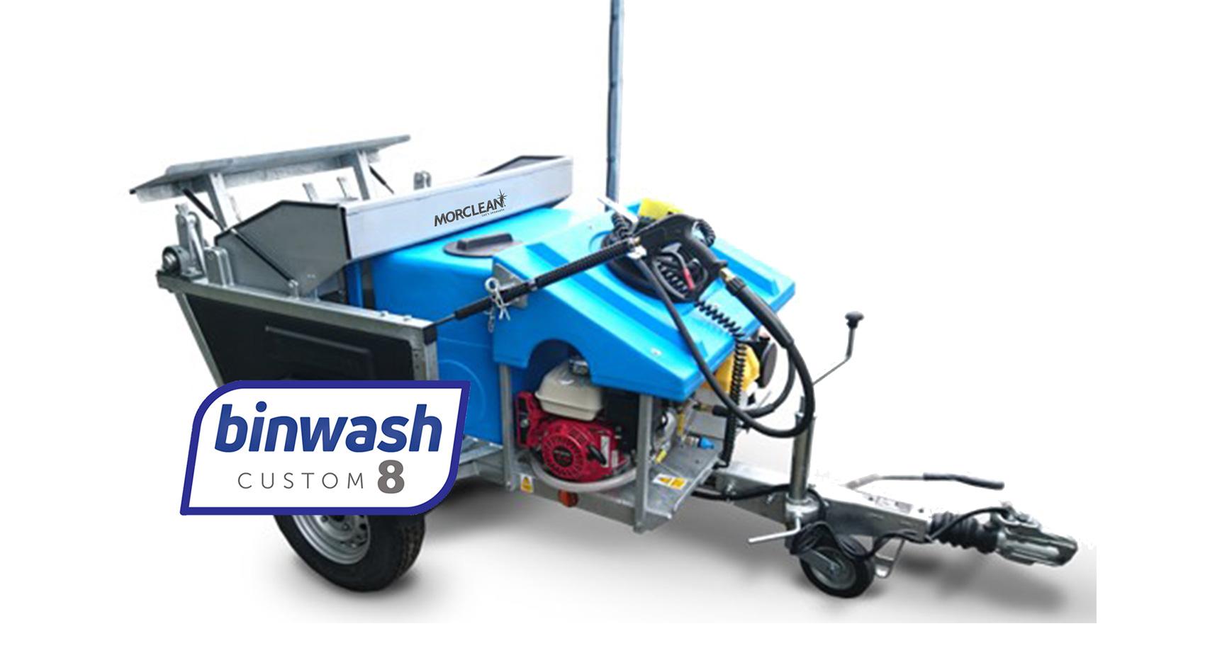 custom 8 petrol bin wash