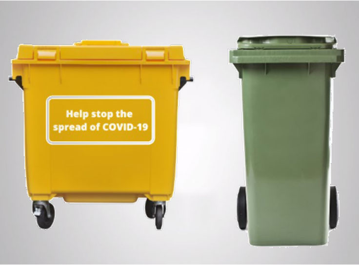 clean bins