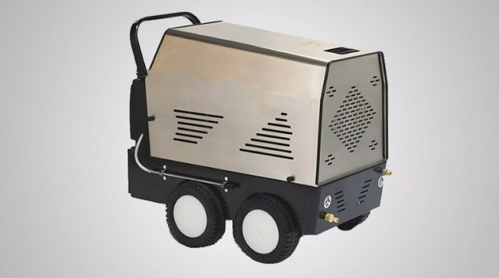 Hot water mobile demin pressure washer