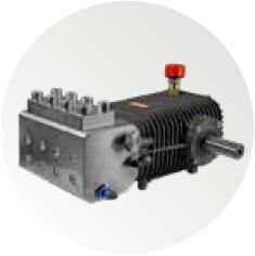 Triplex pump with S.S AISI 420 head